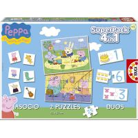 SUPERPACK 4 IN 1 PEPPA PIG