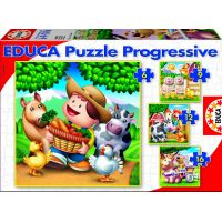 PUZZLES PROGRESIVOS ANIMALITOS