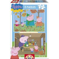 PEPPA PIG PUZZLE 2X20
