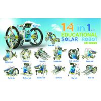 KIT ROBOT EDUCATIVO SOLAR 14 EN 1