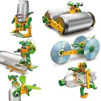 Super Robot Solar Reciclable 6 en 1