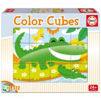 Color Cubes Animales Salvajes