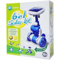 KIT SOLAR EDUCATIVO 6 EN 1 AZUL