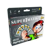 Juego Educativo de Cartas SuperTmatik Quiz Matemáticas