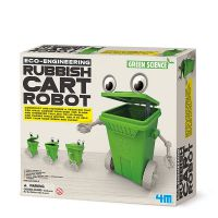 Rubbish Cart Robot El Robot Basurero