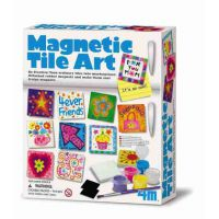 MAGNETIC TILE ART (PINTAR IMANES DE NEVERA)